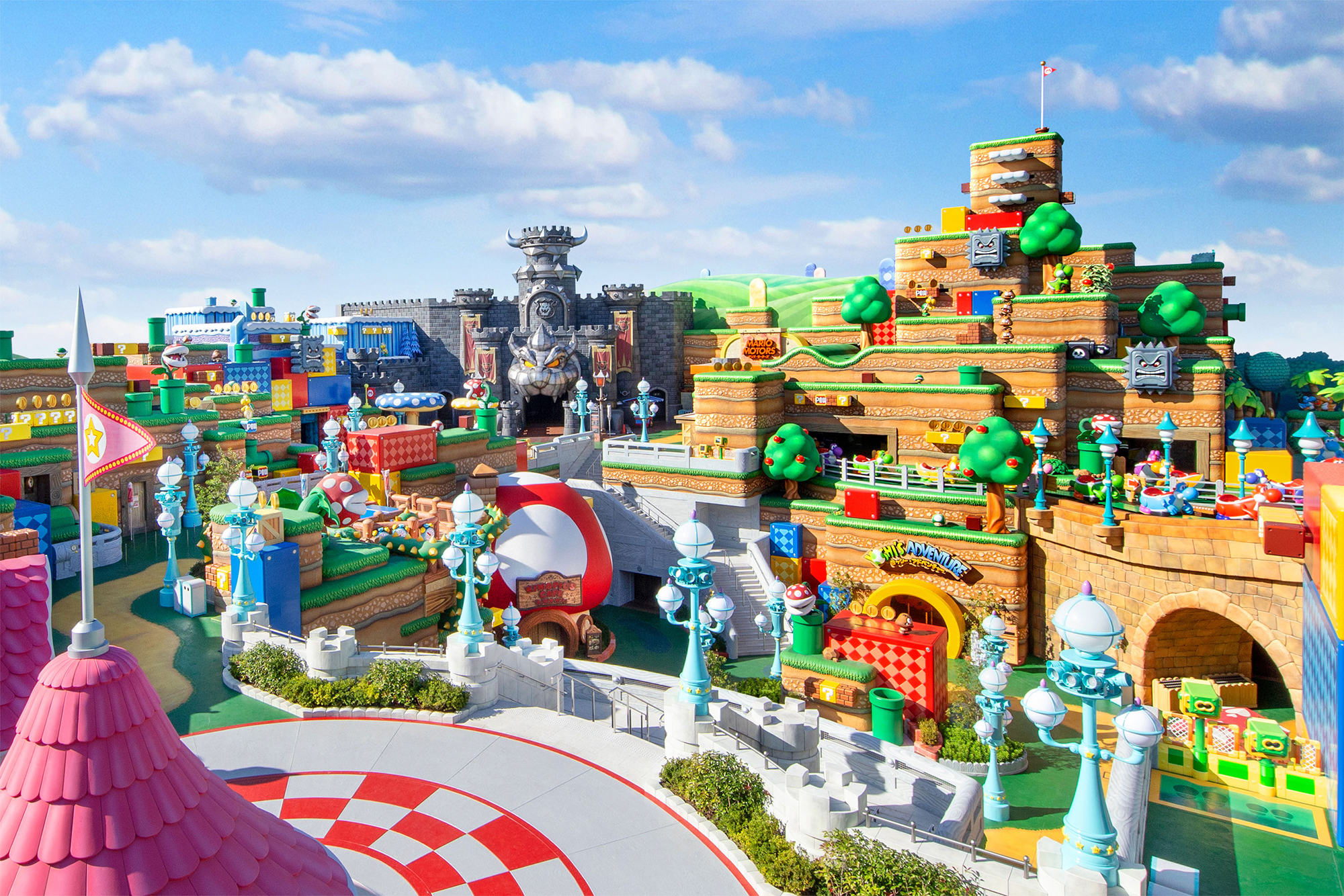 Super Nintendo World – Video Walkthrough, Official Website Live, and More