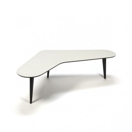 coffee table boomerang shaped by