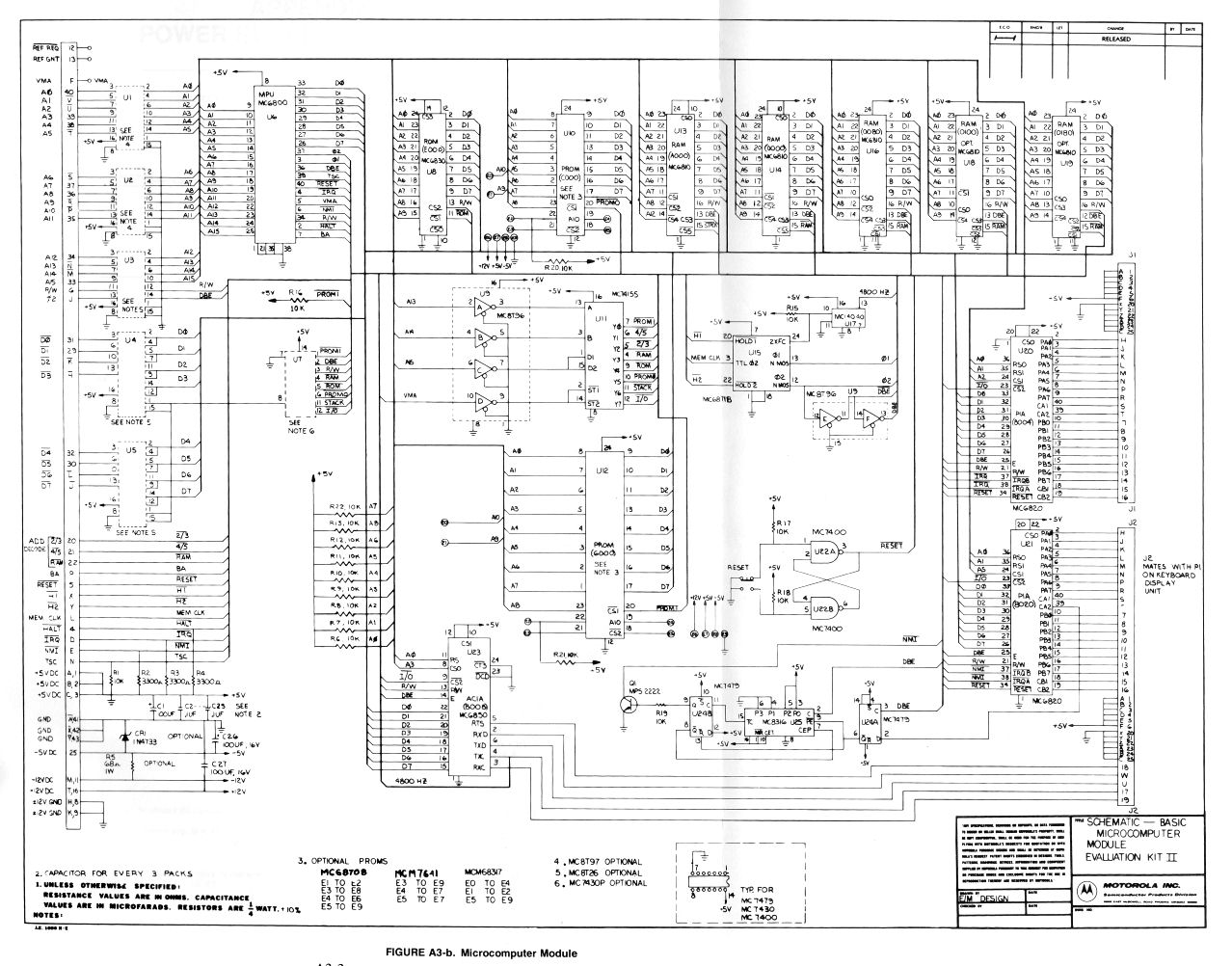 Motorola Mek D2 Computer