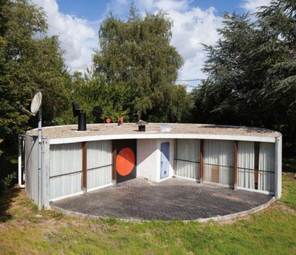 The Binotto House, Mirepoix, France, Serge Binotto, 1969.