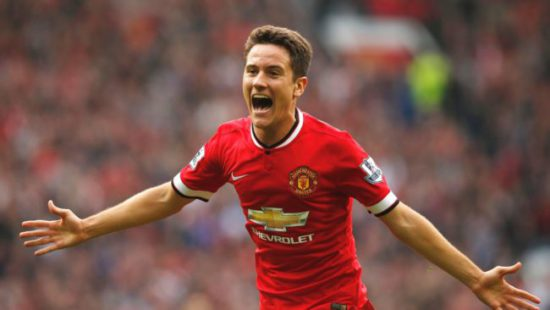 I want to play for Man United not Barcelona – Ander Herrera reveals