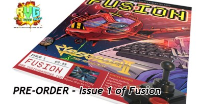 New Gaming Mag -PRE-ORDER – Issue 1 of Fusion.