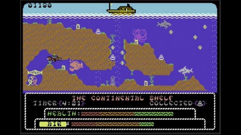 Exploding Fish - New C64 Game Review - RVG
