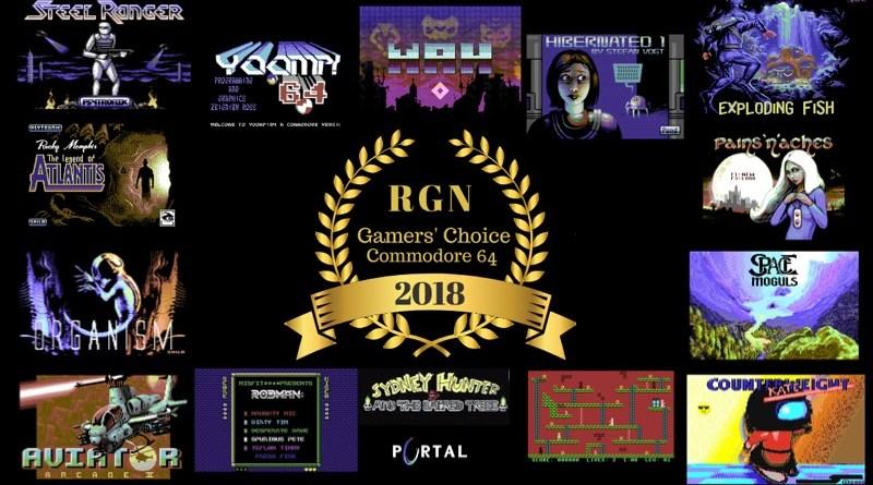 C64 Gamers' Choice 2018 Award