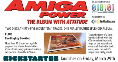 Amiga Power: The Album With Attitude.