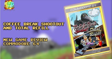 The Coffee Break Shootout / Total Refill – C64 Game Review