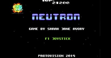 Neutron – New C64 Game Review