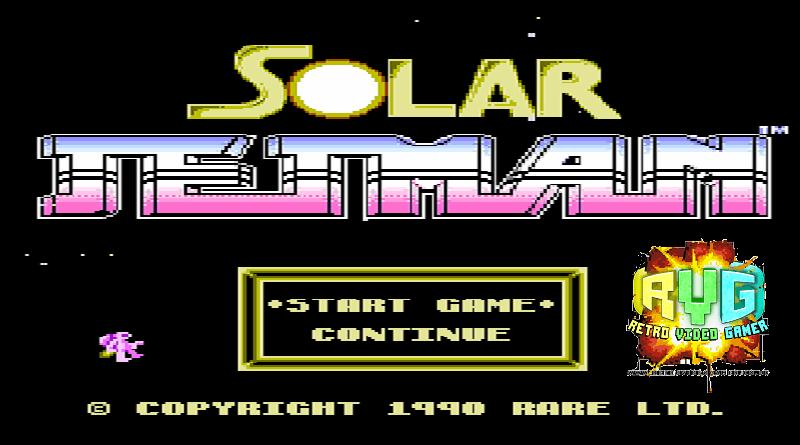 Solar Jet Man