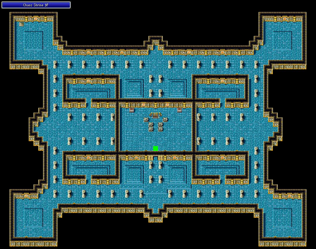 Chaos Shrine 3F Final Fantasy I Walkthrough