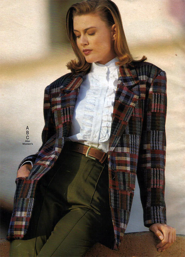Image result for 1990 womens coat fashion