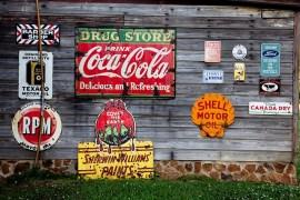 Letreros vintage para bar y cocina