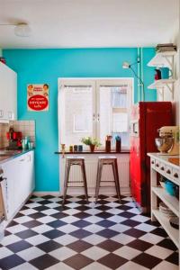 Azulejos de cuadros para cocina vintage