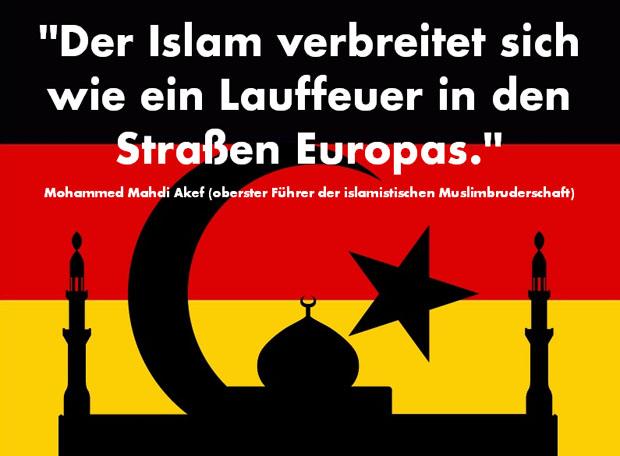 Bildergebnis für islamisierung bilder