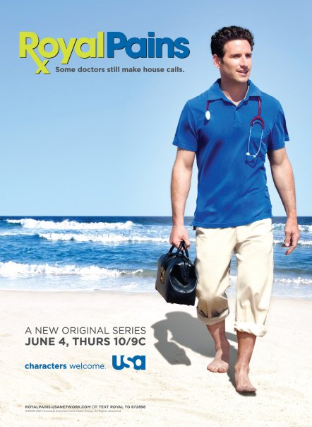 Royal Pains saison 3 épisode 16 streaming dans Series Royalpains