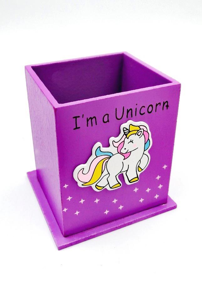 pen stand unicorn
