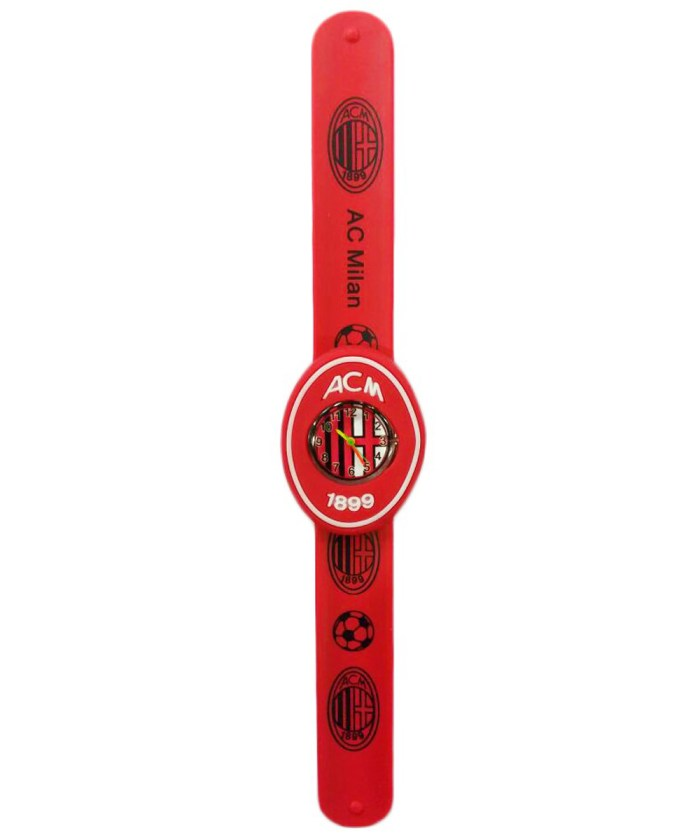 Analog Wrist Watch|AC Milan Football Club|Blue|3D Embossed