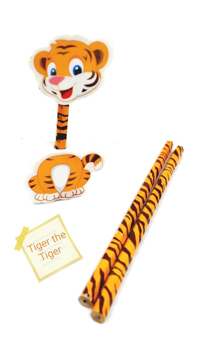 tiger pencils set