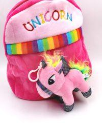unicorn soft toy backpack