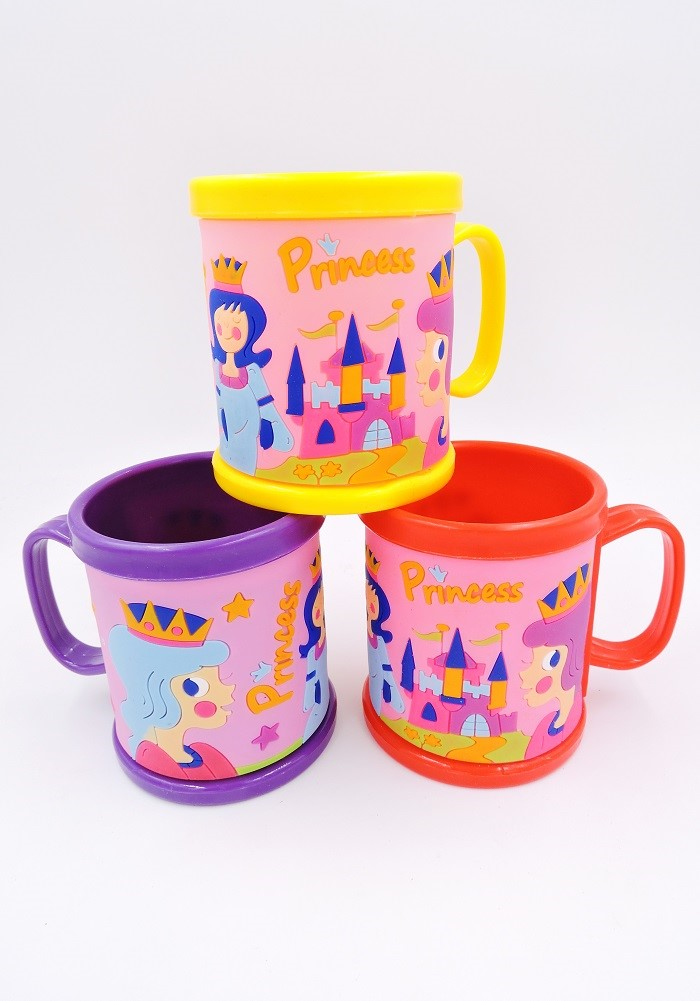princess theme mug for return gifts for kids