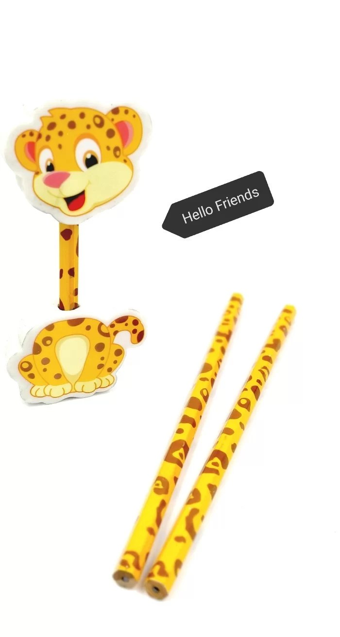 cheetah pencils