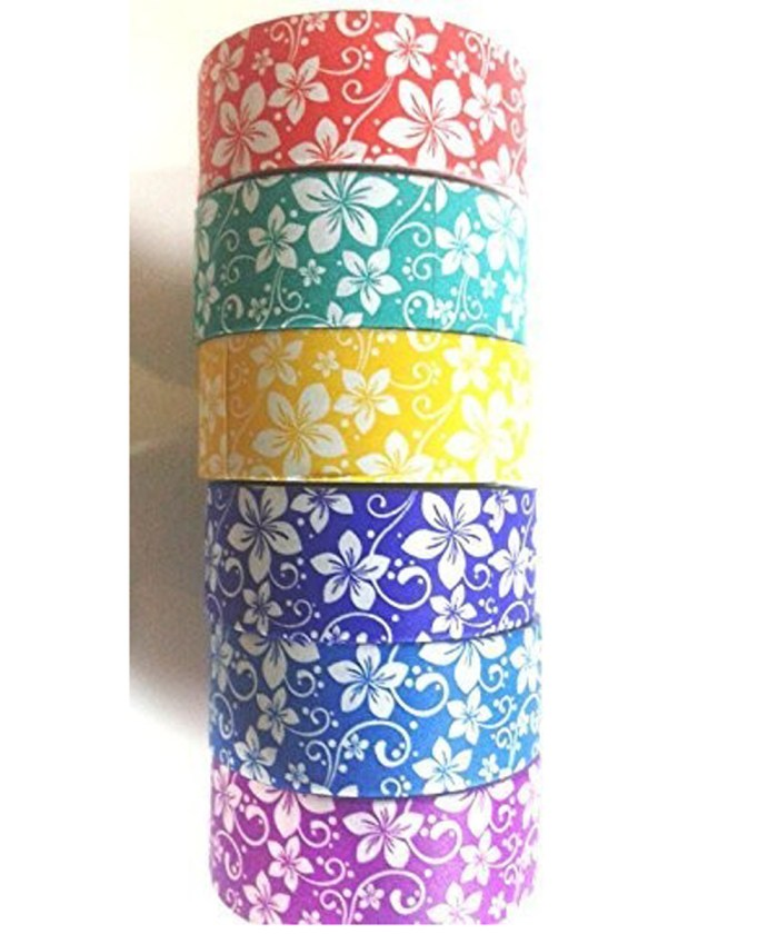 Flower Print Designer Paper Tape