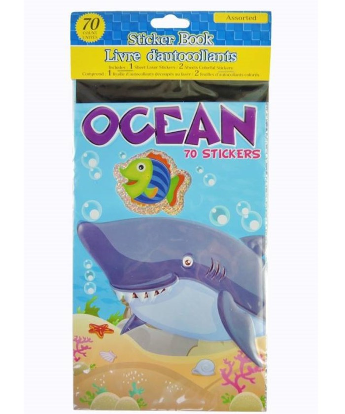 Ocean Theme Stickers Book | Underwater Theme