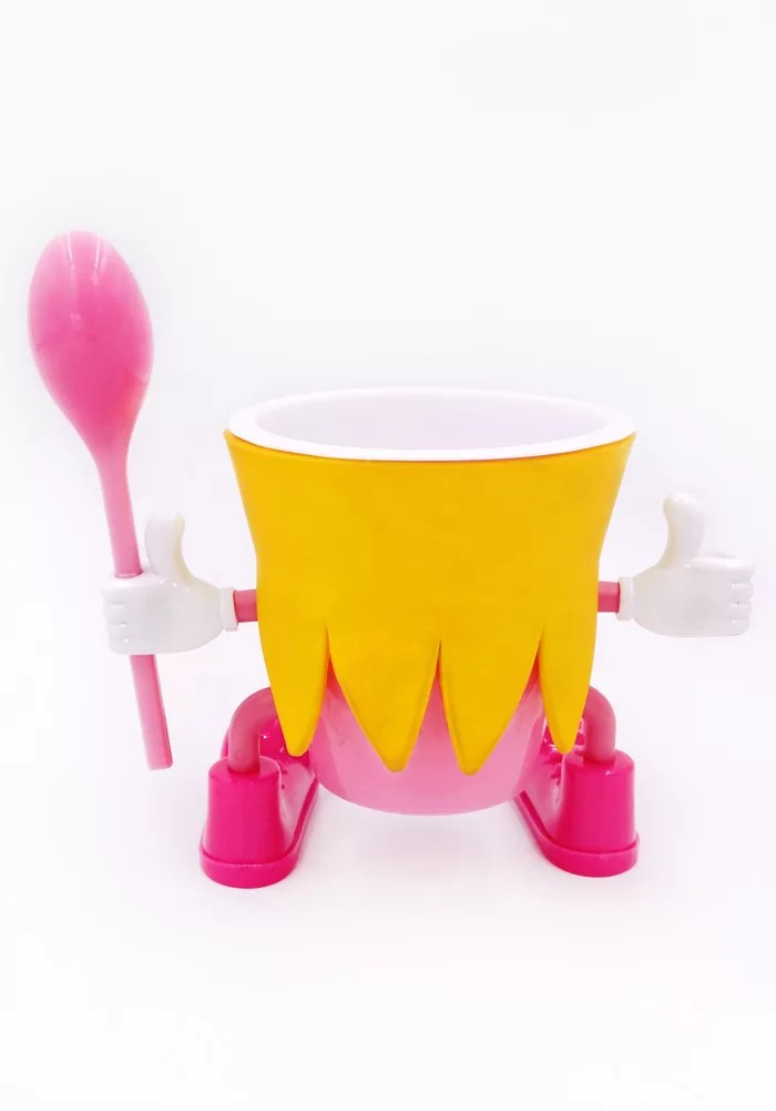 pinky princes pudding cups for party-ice cream cup-return gifts