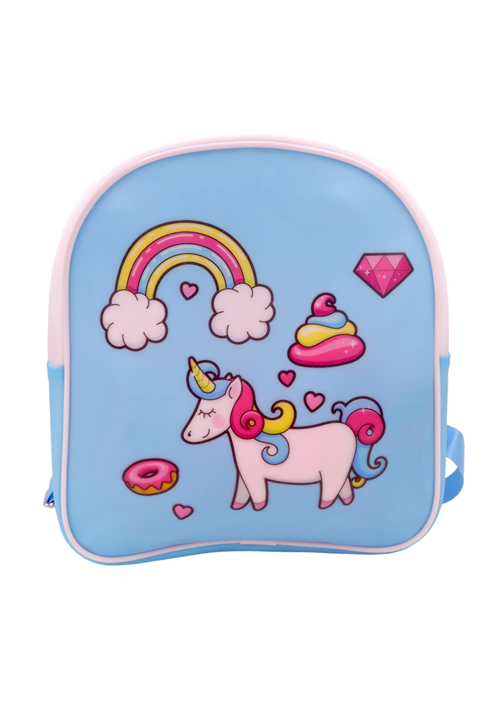 beautiful dreamy design unicorn theme small backpacks for toddlers online india