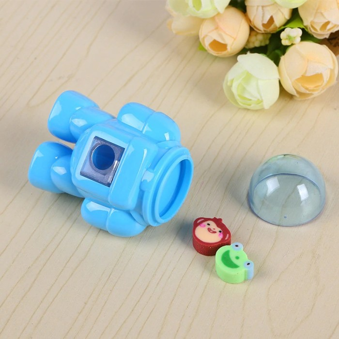 astronaut or space theme return gifts sharpener