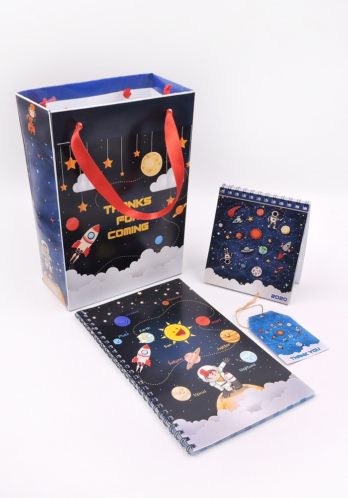 return gifts for space theme party-combo 4 in 1
