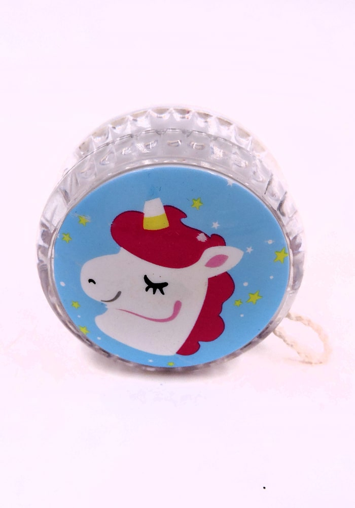 unicorn blue color yoyo