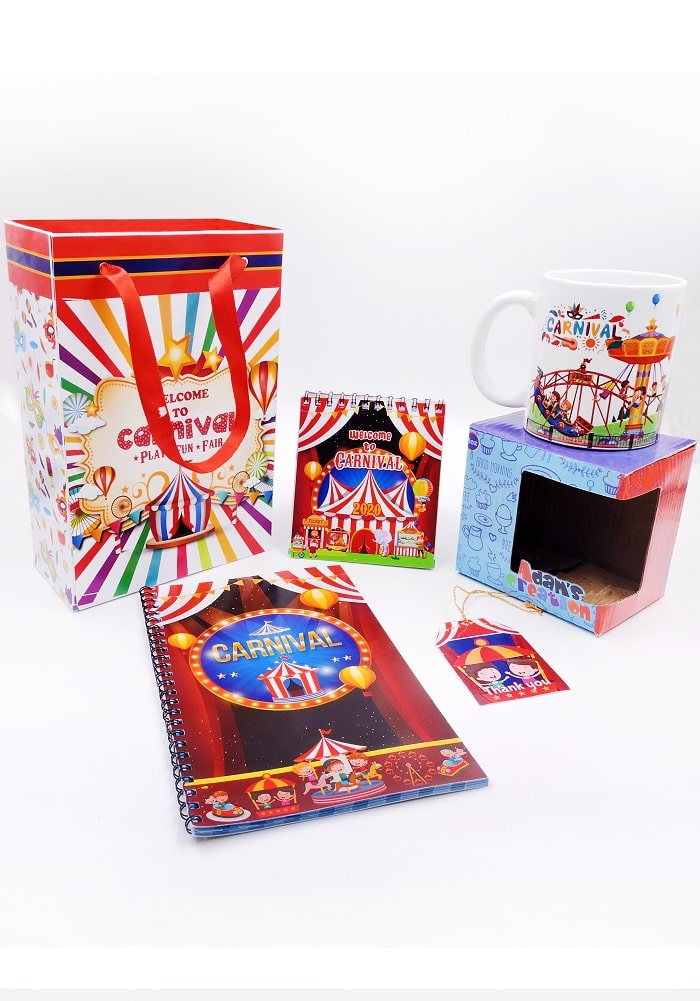 carnival theme birthday return gifts elite combo