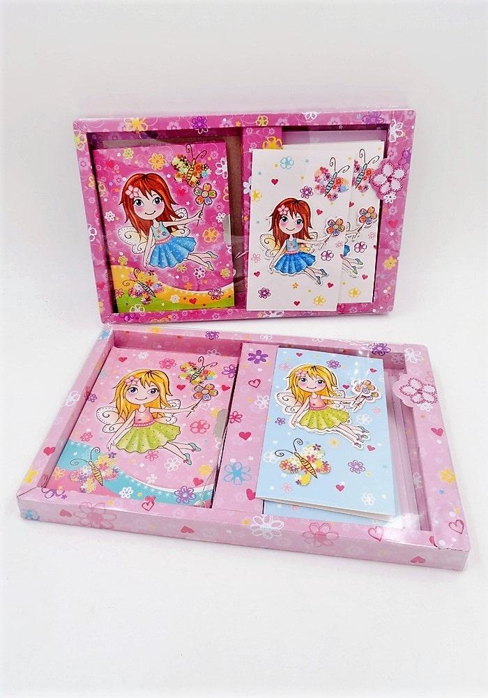 fairy theme return gifts diary