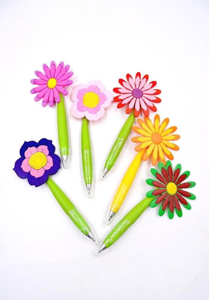 flower theme pens