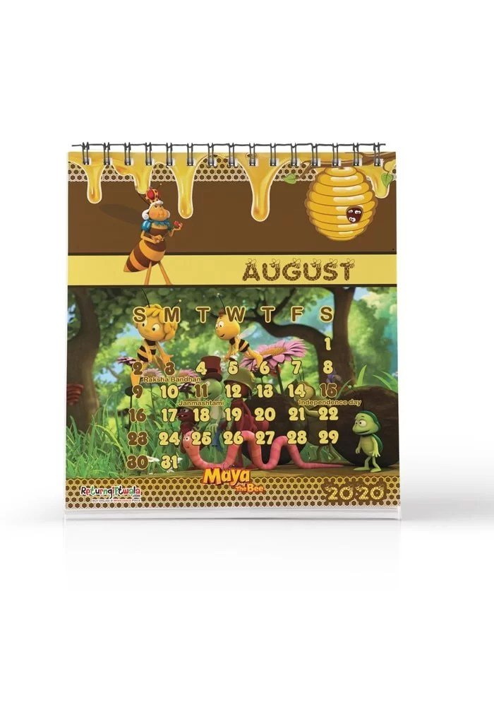 maya the bee theme return gifts calendars for kids online india