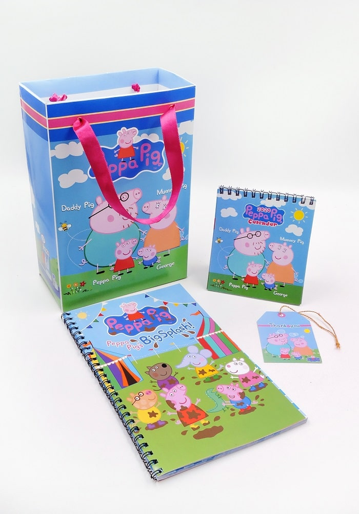 return gifts for peppa pig theme party gift combo