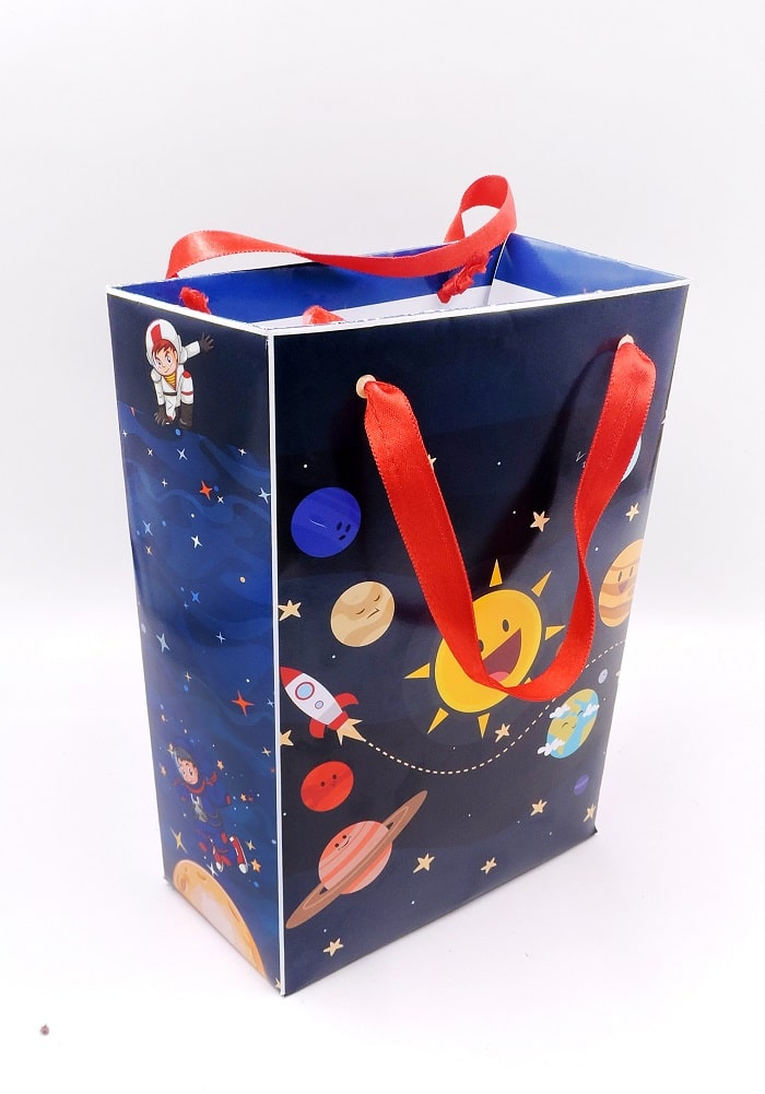 Space theme Paper Bags for Return Gifts