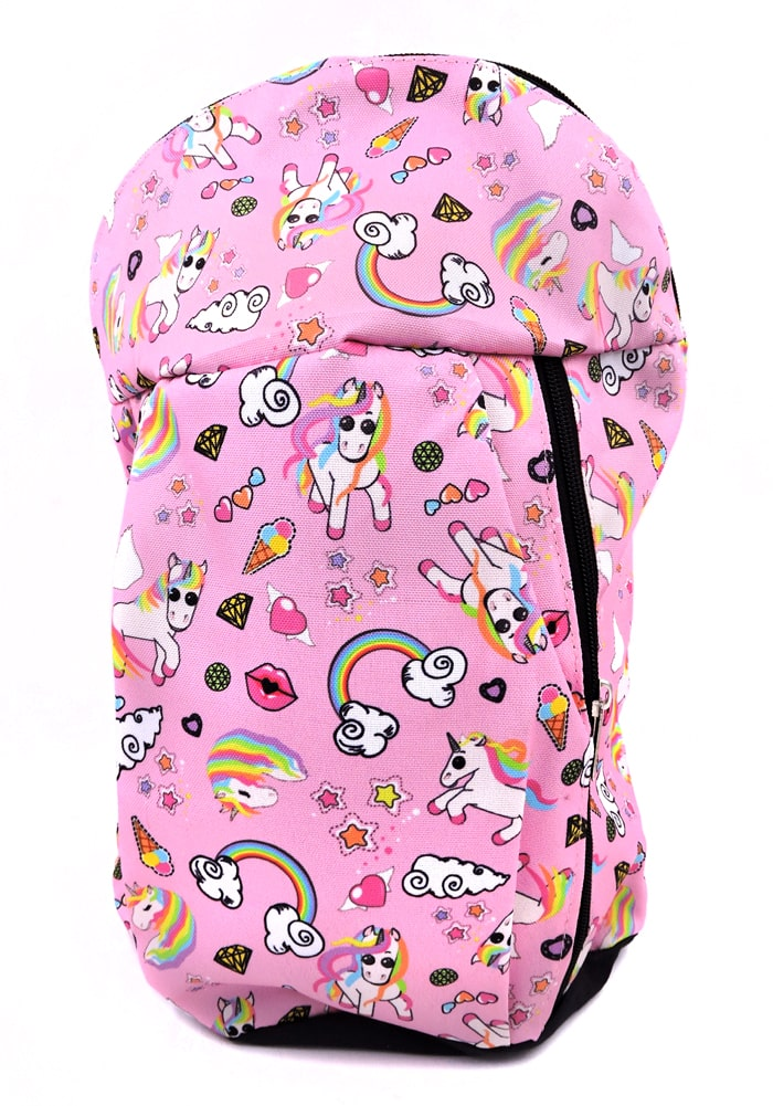 unicorn theme backpack for kids