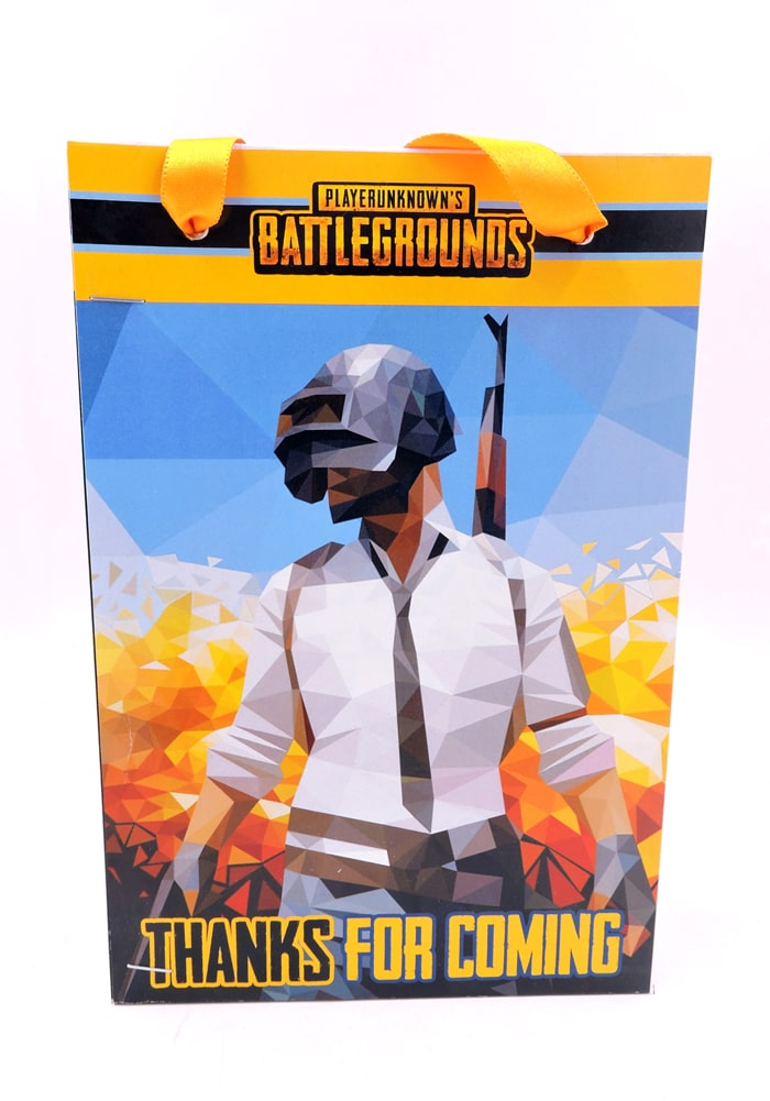 pubg theme paper bag for return gift