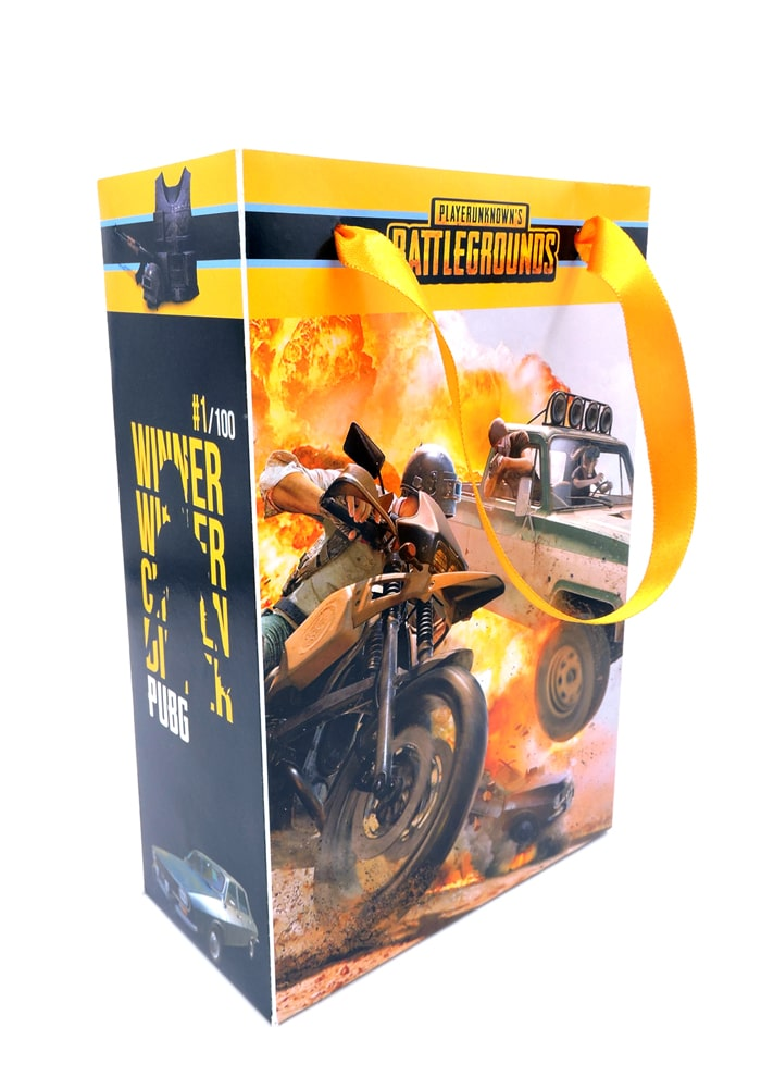 pubg theme paper bag for return gifts