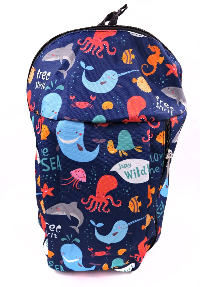 under the sea theme backpack for kids