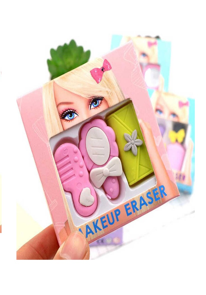 babrie theme make up eraser for school