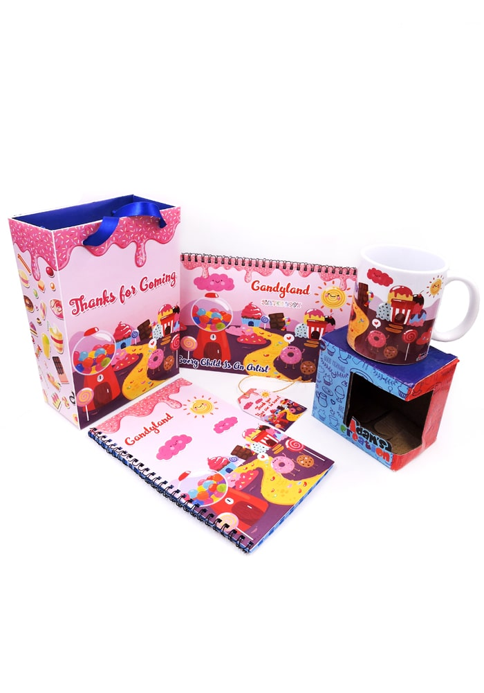 candy land theme kids return gifts