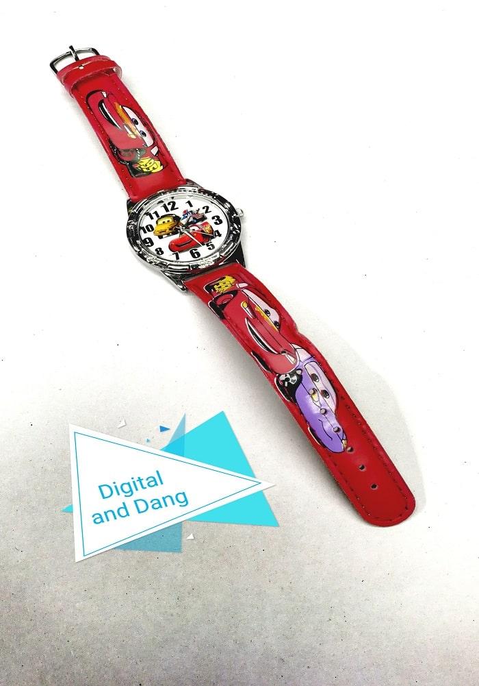 car theme wrist watch for kids