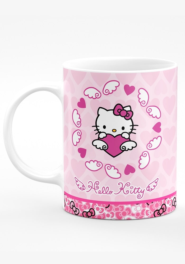 hello kitty theme mug ,kitty theme mug for kids