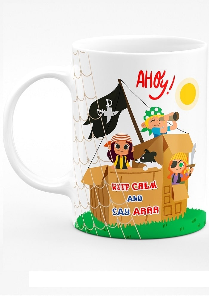 pirates theme mug for party