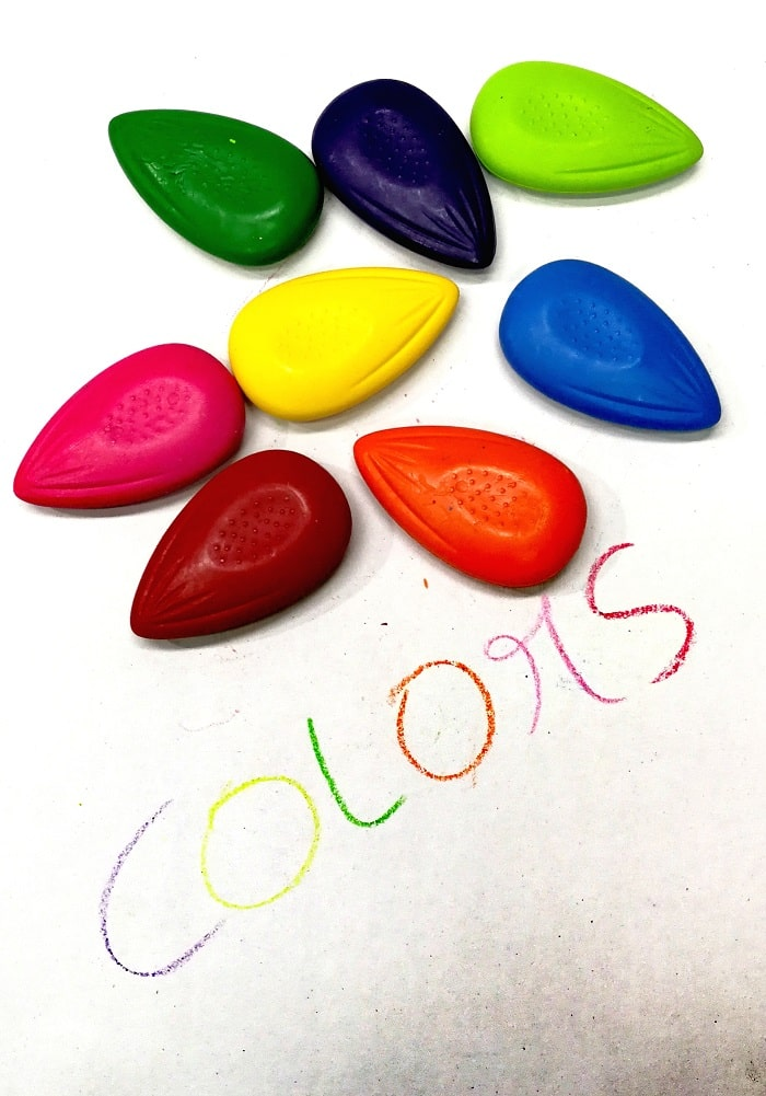 thumb crayons for toddlers kids