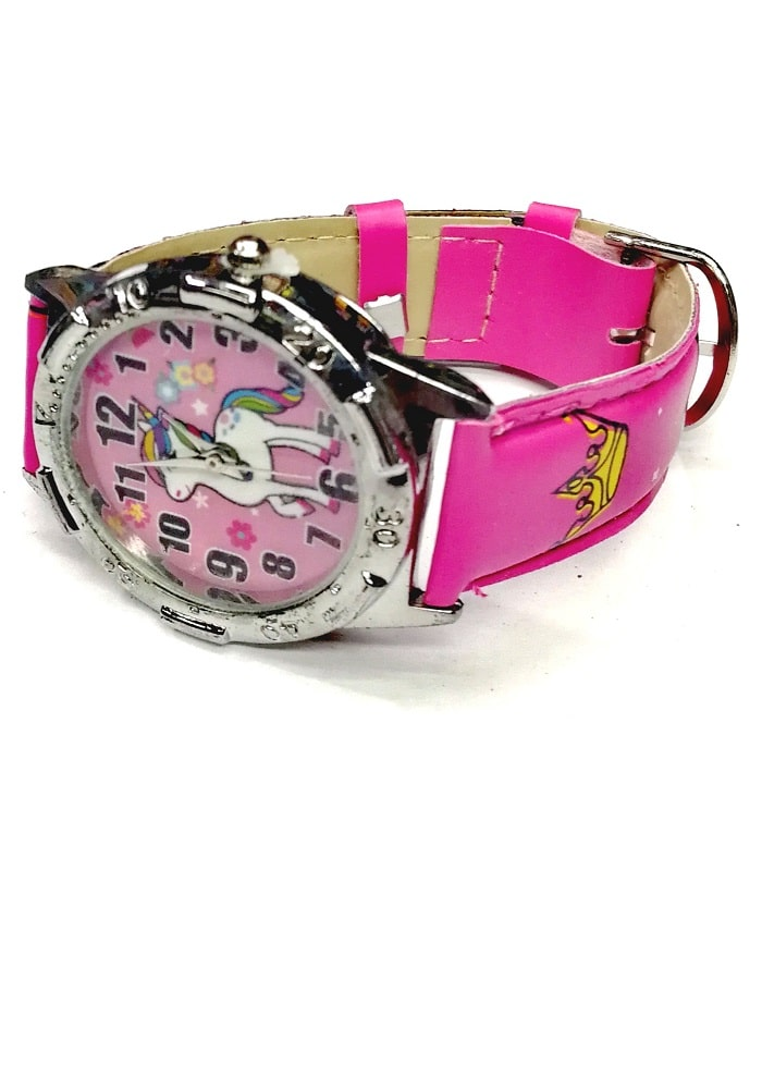 unicorn theme wrist watch for kids