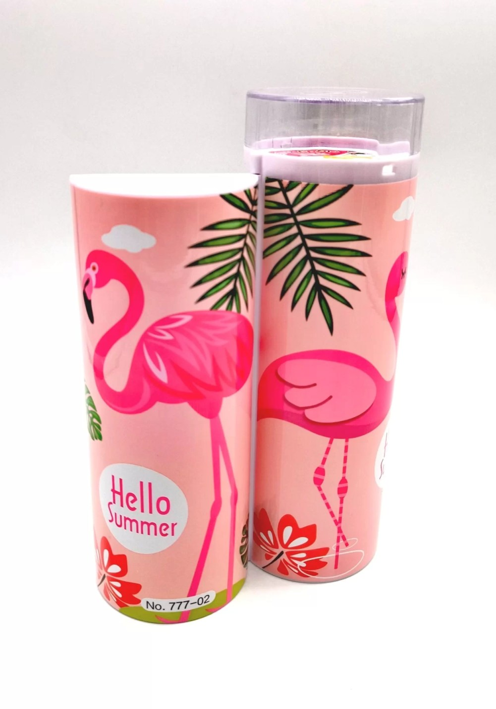 flamingo themed gifts pencil case for kids girls adults-min