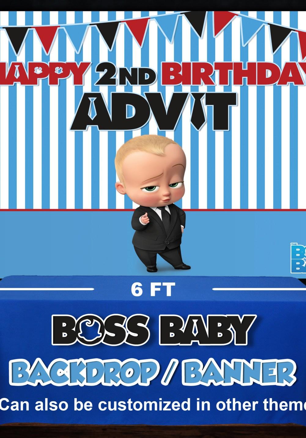 baby boss theme backdrop for photo shoot baby boss theme birthday